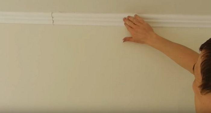 Монтаж потолочного плинтуса своими руками 186