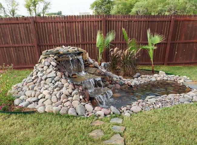 Декоративный водоем своими руками фото 640