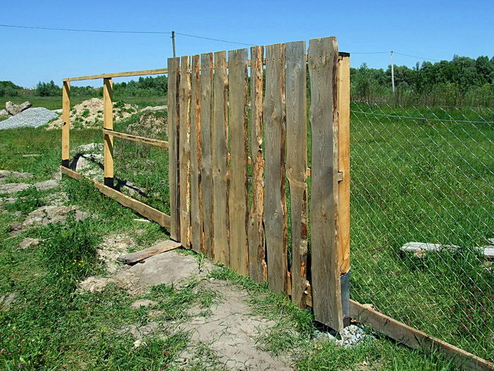 Забор своими руками поэтапно 904