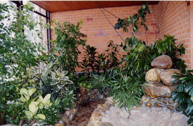 Построить зимний сад своими руками