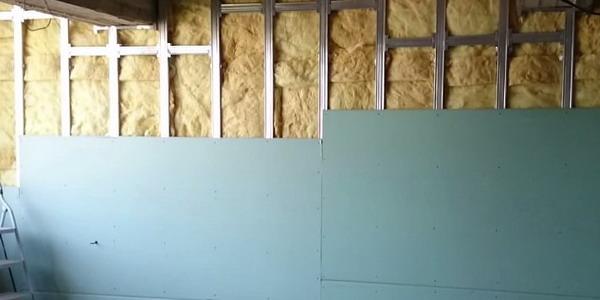 Утепление стен внутри дома