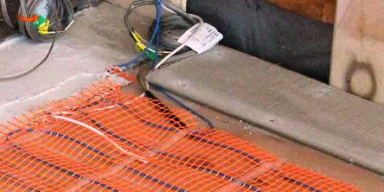 Теплый пол электрический своими руками ремонт