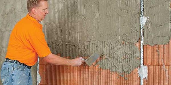 Как красиво оштукатурить стену