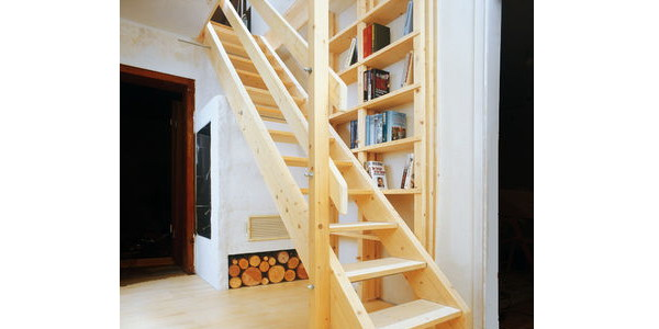 Лестница простая своими руками фото