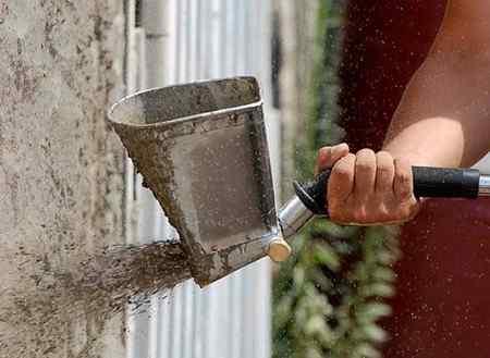 Штукатурка стен своими руками арболита 98