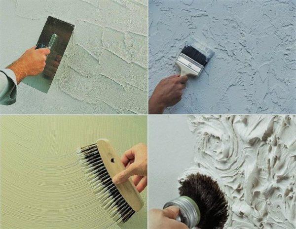 Декоративная штукатурка своими руками подготовка стен 67